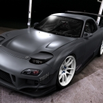 Matte Gry RX-7 By Hugo Silva